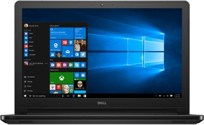 Dell Inspiron APU Quad Core A10 6th Gen - (8 GB/1 TB HDD/Windows 10 Home/2 GB Graphics) Z566120HIN9 5555 Notebook(15.6 inch, Black, 2.3 kg)