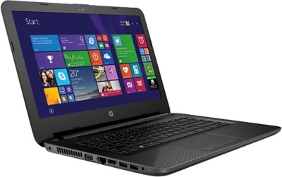 HP 240 Core i3 5th Gen - (4 GB/500 GB HDD/DOS) N3S58PT G4 Notebook(14 inch, Black, 2 kg)