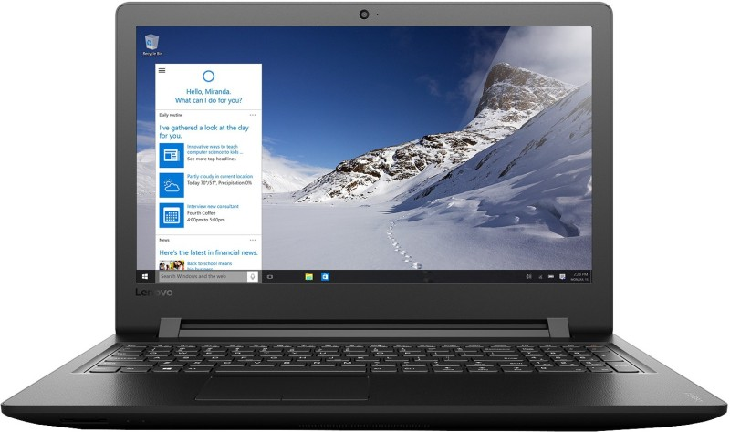 Lenovo  Notebook  Intel Core i3 4 GB RAM Windows 10 Home
