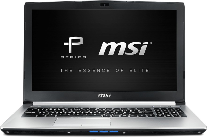 View MSI P Core i7 7th Gen - (16 GB/1 TB HDD/DOS/4 GB Graphics) PE60 7RD Notebook(15.6 inch, Metallic SIlver, 2.3 kg) Laptop