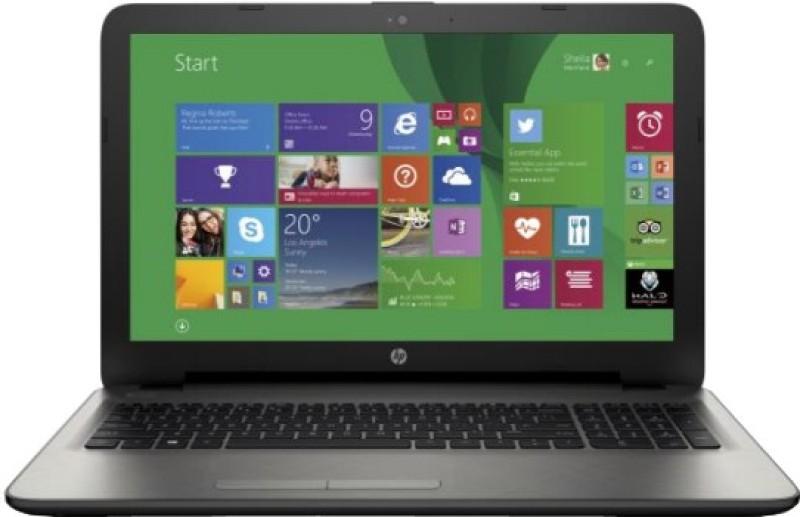HP 15-ac030TX Notebook (Core i3 5th Gen/ 4GB/ 1TB/ 2GB Graph/ Win8.1) (M9V10PA)(15.6 inch, Turbo SIlver Color With Diamond & Cross Brush Pattern, 2.14 kg)