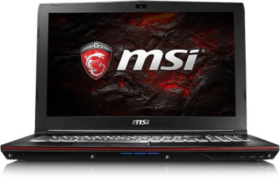 MSI GP Core i7 7th Gen - (16 GB/1 TB HDD/128 GB SSD/Windows 10 Home/4 GB Graphics) GP62 7RD Notebook(15.6 inch, Black, 2.4 kg)