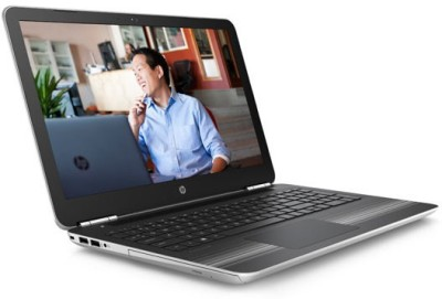 HP Pavilion 15-au006TX Intel Core i5 (6th Gen) - (8 GB/1 TB HDD/Windows 10/4 GB Graphics) Notebook W6T19PA (15.6 inch, Natural Silver, 2.03 kg)