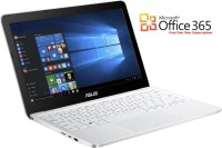 View Asus Eeebook Atom - (2 GB/32 GB EMMC Storage/Windows 10 Home) 90NL0071-M00680 E200HA-FD0005TS Netbook(11.6 inch, White, 0.98 kg) Laptop