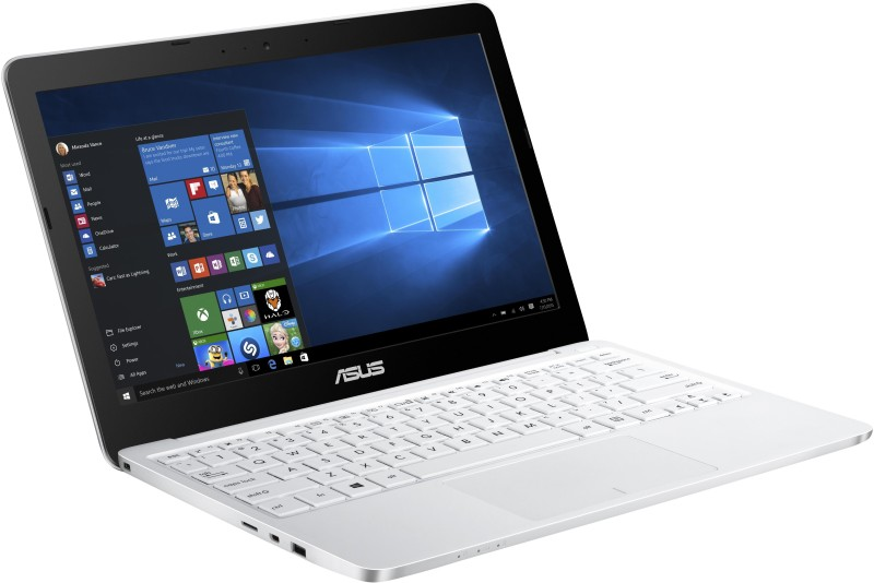 Asus Intel Atom Quad Core - (2 GB/32 GB EMMC Storage/Windows 10) 90NL0071-M00680 E200HA-FD0005TS Notebook EeeBook