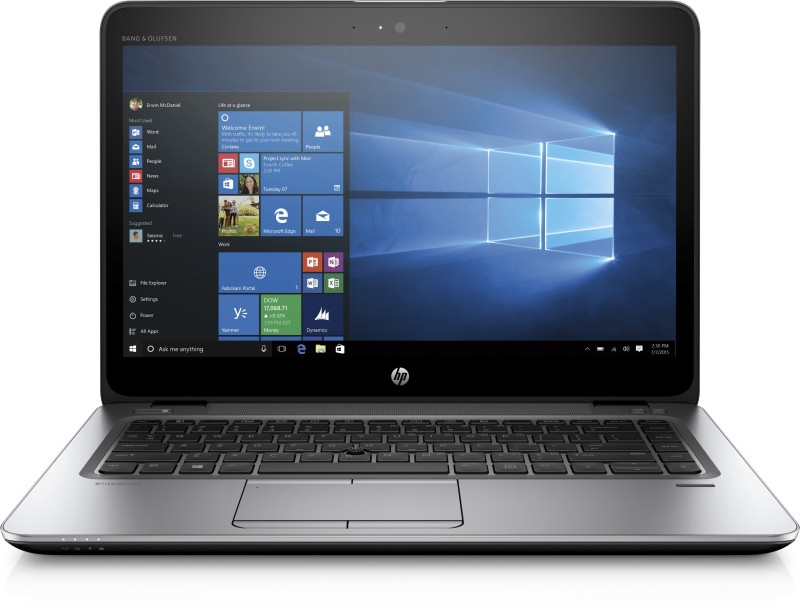 HP EliteBook Core i7 6th Gen - (8 GB/256 GB SSD/Windows 10 Pro) W8H21PA#ACJ 840 G3 Notebook(14 inch, Silver, 1.34 kg)