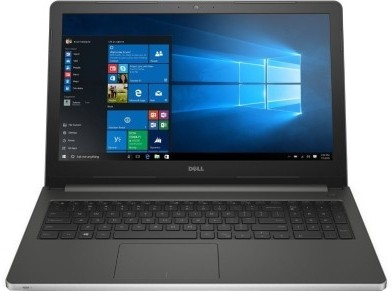 View Dell Core i5 6th Gen - (4 GB/1 TB HDD/Windows 10 Home/2 GB Graphics) 5559 Notebook(15.6 inch, Silver, 2.4 kg) Laptop