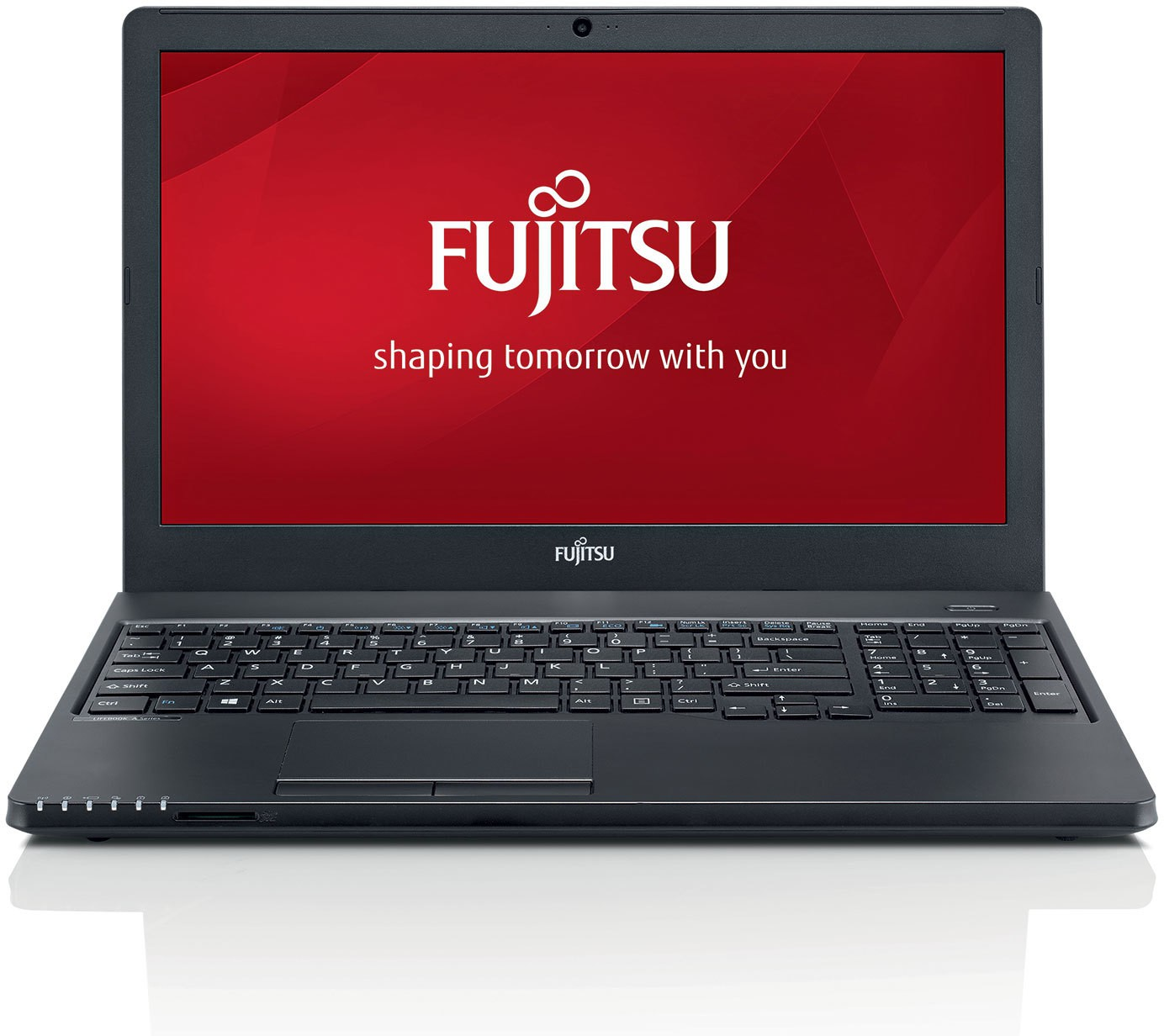 View Fujitsu Lifebook Core i3 5th Gen - (8 GB/500 GB HDD/DOS) Lifebook A555 Notebook(15.6 inch, Black) Laptop