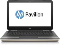 HP Pavilion Core i7 7th Gen - (12 GB 1 TB HDD 128 GB SSD Windows 10 Home 4 GB Graphics) Y4F82PA ACJ 14-AL110TX QSPECS Notebook(14 inch Modern Gold 1.78 kg)