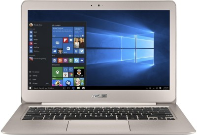 Asus ZenBook UX305UA-FC013T Intel Core i5 (6th Gen) - (8 GB/256 GB SSD/Windows 10) Ultrabook 90NB0AB5-M01410 (13.3 inch, Metallic Gold, 1.3 kg)