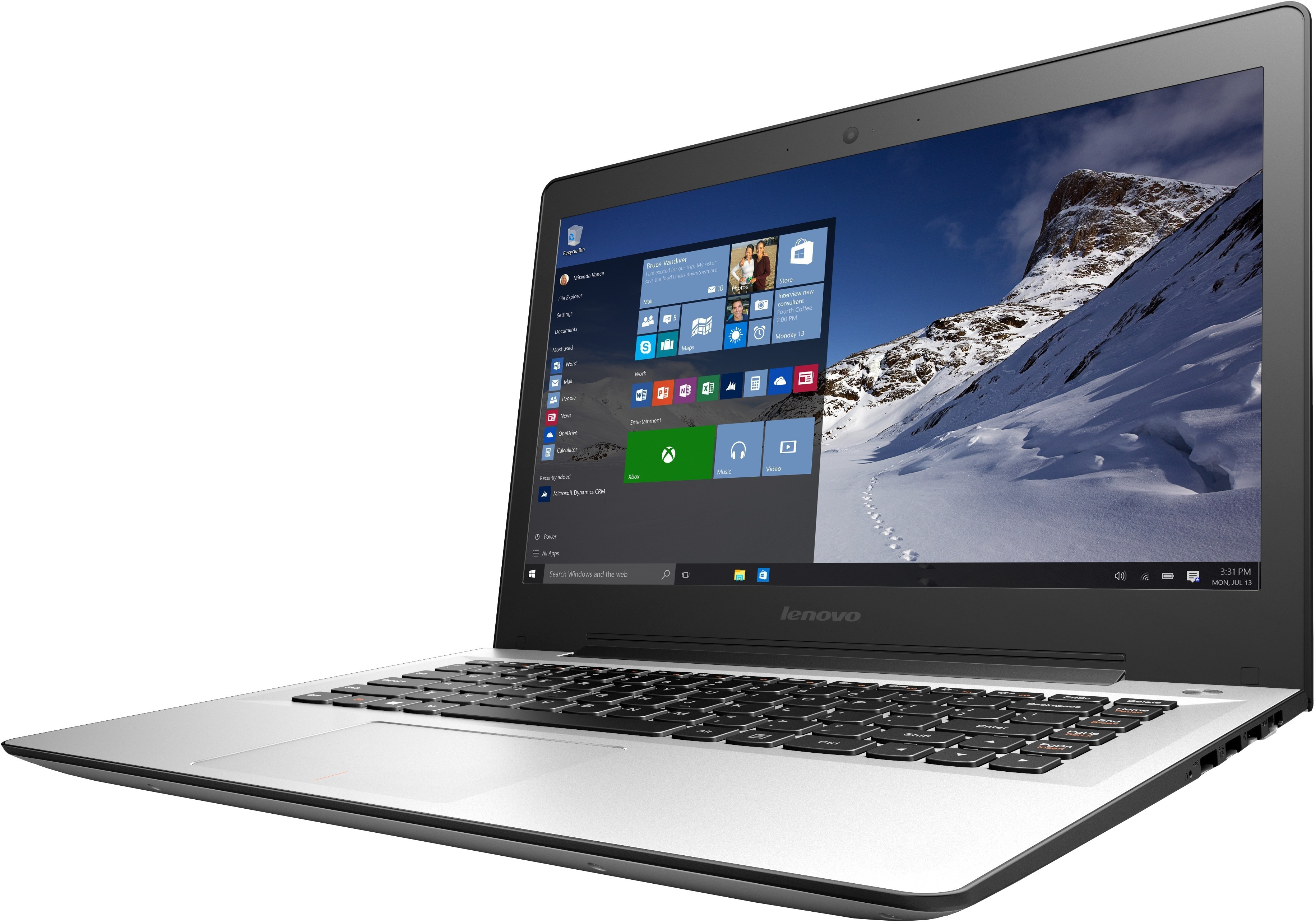 View Lenovo Ideapad 500s Intel Core i5 (6th Gen) - (4 GB/1 TB HDD/Windows 10/2 GB Graphics) 80Q30056IN 500S-14ISK Notebook Laptop