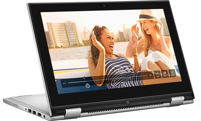 View Dell Inspiron Core i7 5th Gen - (8 GB/256 GB SSD/Windows 8 Pro) 7348 2 in 1 Laptop(13.3 inch, Silver) Laptop