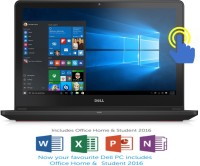 Dell Inspiron 7000 Core i5 6th Gen - (8 GB 1 TB HDD 8 GB SSD Windows 10 Home 4 GB Graphics) Z567301SIN9 7559 Notebook(15.6 inch Black 2.57 kg)