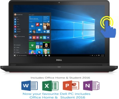 Dell Inspiron 7000 Core i5 6th Gen - (8 GB/1 TB HDD/8 GB SSD/Windows 10 Home/4 GB Graphics) Z567301SIN9 7559 Notebook(15.6 inch, Black, 2.57 kg)
