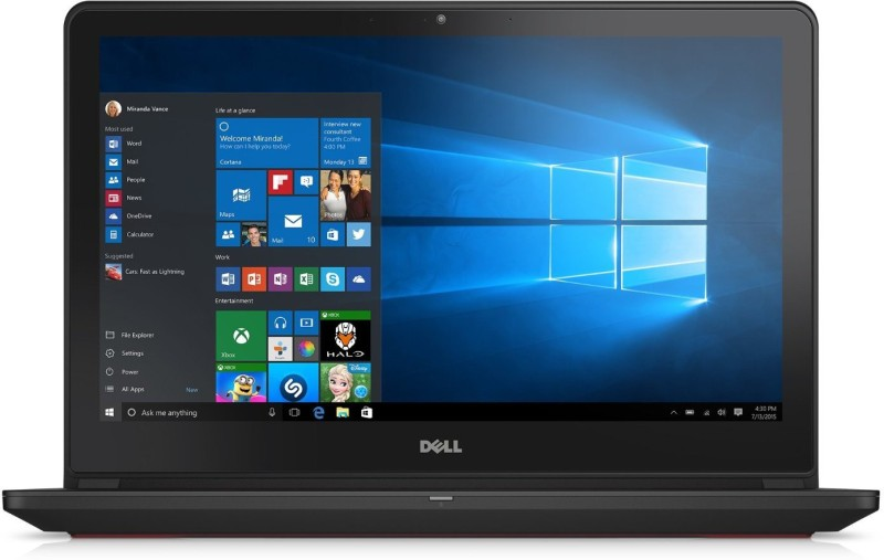 Dell Inspiron 7000 Core i7 6th Gen - (8 GB/1 TB HDD/8 GB SSD/Windows 10 Home/4 GB Graphics) Z567302SIN9 7559 Notebook(15.6 inch, Black, 2.57 kg)