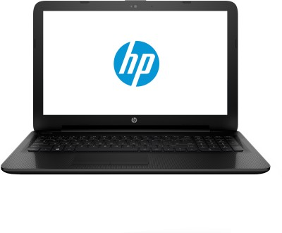 HP Celeron Dual Core - (4 GB/500 GB HDD/DOS) M9U93PA 15-ac039TU Notebook(15.6 inch, Jack Black Color With Textured Diamond Pattern, 2.14 kg)