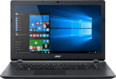 Acer ES 15 APU Quad Core A4 6th Gen - (4 GB/500 GB HDD/Windows 10 Home) UN.G2KSI.008 ES1-521-899K Notebook(15.6 inch, Black)