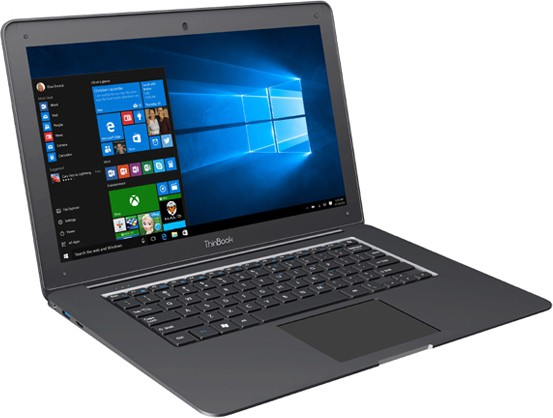 RDP ThinBook Atom 7th Gen - (2 GB/32 GB HDD/Windows 10 Pro) 1430P Netbook(14.1 inch, Black, 1.45 kg)   Laptop  (RDP)