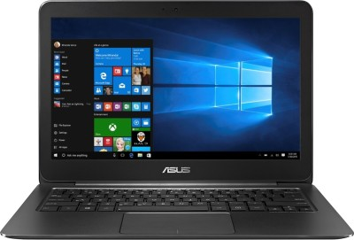 Asus ZenBook UX305UA-FB004T Core i7 - (8 GB/512 GB SSD/Windows 10) Ultrabook 90NB0AB1-M01430 (13.3 inch, Black, 1.3 kg)