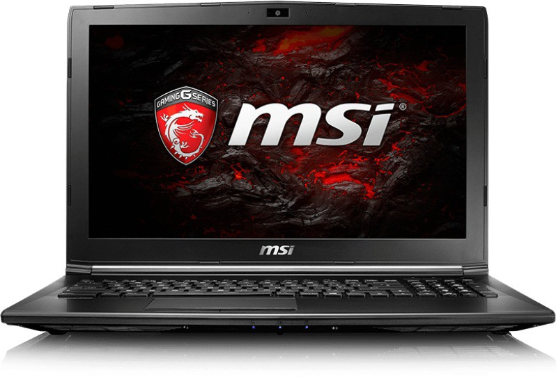 View MSI GL Core i5 7th Gen - (8 GB/1 TB HDD/DOS/2 GB Graphics) GL62M 7RD Notebook(15.6 inch, Black, 2.2 kg) Laptop