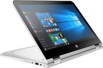 HP Pavilion Core i3 6th Gen - (4 GB/1 TB HDD/Windows 10 Home) W0J50PA 13-U004TU 2 in 1 Laptop(13.3 inch, Turbo SIlver, 1.66 kg)