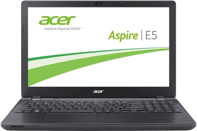 Acer E 15 Core i5 4th Gen - (4 GB/1 TB HDD/Linux/2 GB Graphics) UN.MV2SI.001 E5-572G Notebook(15.6 inch, Black, 2.55 kg)