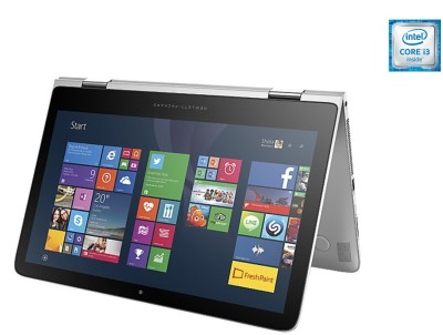HP Pavilion x360 13-s102tu Core i3-6th Gen. - (4 GB/1 TB HDD/Windows 10) 2 in 1 Laptop T0Y58PA#ACJ (13.3 inch, Natural SIlver Colour, 1,71 kg)