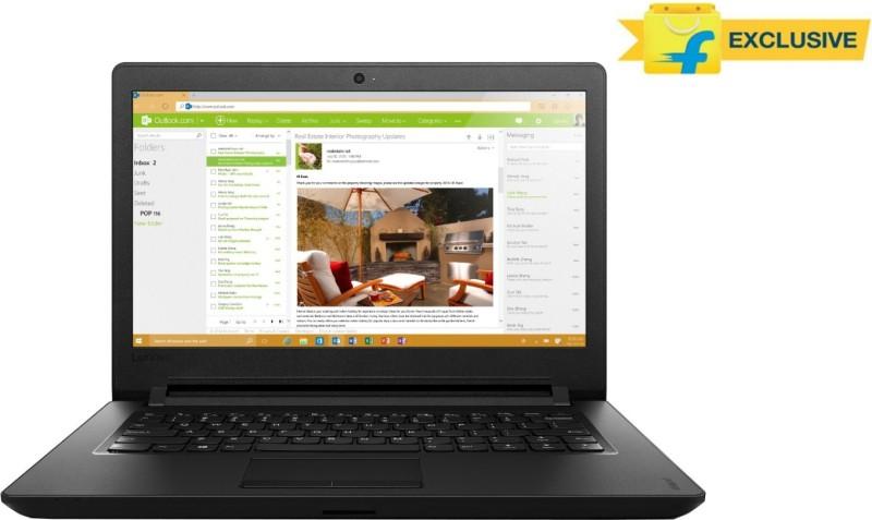 Lenovo Ideapad 100 Pentium Quad Core - (4 GB/500 GB HDD/Free DOS) 80T6003WIH IP 110-14IBR Notebook Ideapad 100