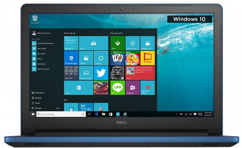 Dell Inspiron Core i7 6th Gen - (8 GB/1 TB HDD/Windows 10 Home/2 GB Graphics) 5559 Notebook(15.6 inch, Blue, 2 kg)   Laptop  (Dell)