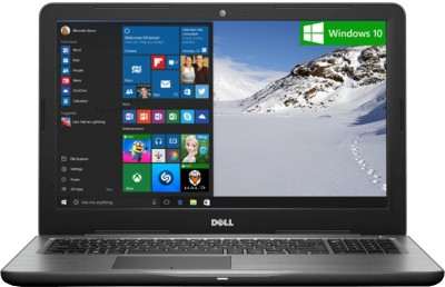 Dell Inspiron 5000 Core i5 7th Gen - (8 GB/1 TB HDD/Windows 10 Home/4 GB Graphics) Z563503SIN9B 5567 Notebook(15.6 inch, Black, 2.36 kg)