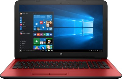 HP Core i3 5th Gen - (4 GB/1 TB HDD/Windows 10 Home) W6T40PA 15-ay026TU Notebook(15.6 inch, Cardinal Red, 2.19 kg)