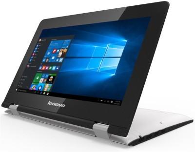 Lenovo Yoga 300 Pentium Quad Core 6th Gen - (4 GB/500 GB HDD/8 GB SSD/Windows 10 Home) 80M1003WIN 300-11IBR 2 in 1 Laptop(11.6 inch, White, 1.4 kg)