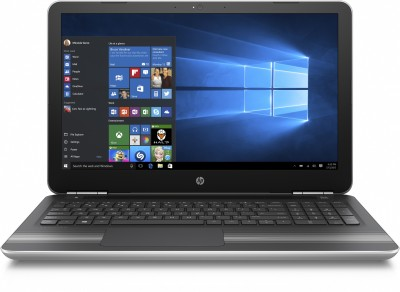 HP Pavilion Core i5 6th Gen - (8 GB/1 TB HDD/Windows 10 Home/4 GB Graphics) W6T19PA 15-au006TX Notebook(15.6 inch, Natural SIlver, 2.03 kg)