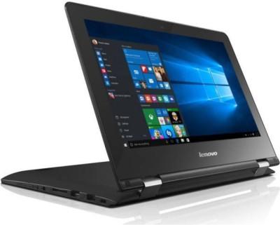 Lenovo Yoga 300 Pentium Quad Core - (4 GB/500 GB HDD/Windows 10 Home) 80M100FKIN Yoga 2 in 1 Laptop(11.6 inch, Black)