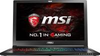 View MSI Core i7 6th Gen - (16 GB/1 TB HDD/256 GB SSD/Windows 10/6 GB Graphics) GS63VR6RF GS63VR Notebook(15.6 inch, Black) Laptop