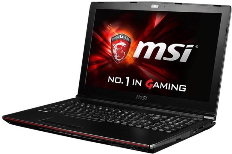 View MSI G Core i7 7th Gen - (16 GB/1 TB HDD/128 GB SSD/Windows 10 Home/4 GB Graphics) GP62 Notebook(15.6 inch, Metal Black, 2.3 kg) Laptop