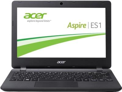 Acer ES 11 Celeron Dual Core - (2 GB/500 GB HDD/Linux) NX.MYKSI.024 ES1-131-C4ZS Notebook(11.6 inch, Diamond Black, 1.25 kg)