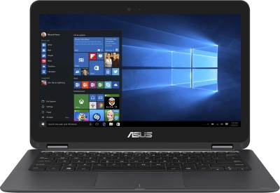 Asus ZenBook Core M 6th Gen - (4 GB/512 GB SSD/Windows 10 Home) 90NB0BA2-M03310 UX360CA-C4080T Ultrabook(13.3 inch, Grey, 1.30 kg)