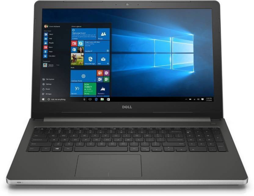 View Dell Inspiron 5000 Core i5 6th Gen - (8 GB/1 TB HDD/Windows 10 Home/2 GB Graphics) 5559 Notebook(15.6 inch, SIlver, 2.4 kg) Laptop
