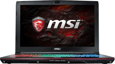 MSI GE Core i7 6th Gen - (16 GB/1 TB HDD/256 GB SSD/Windows 10 Home/6 GB Graphics) GE62VR 6RF GE62VR Notebook(15.6 inch, Black, 2.4 kg)