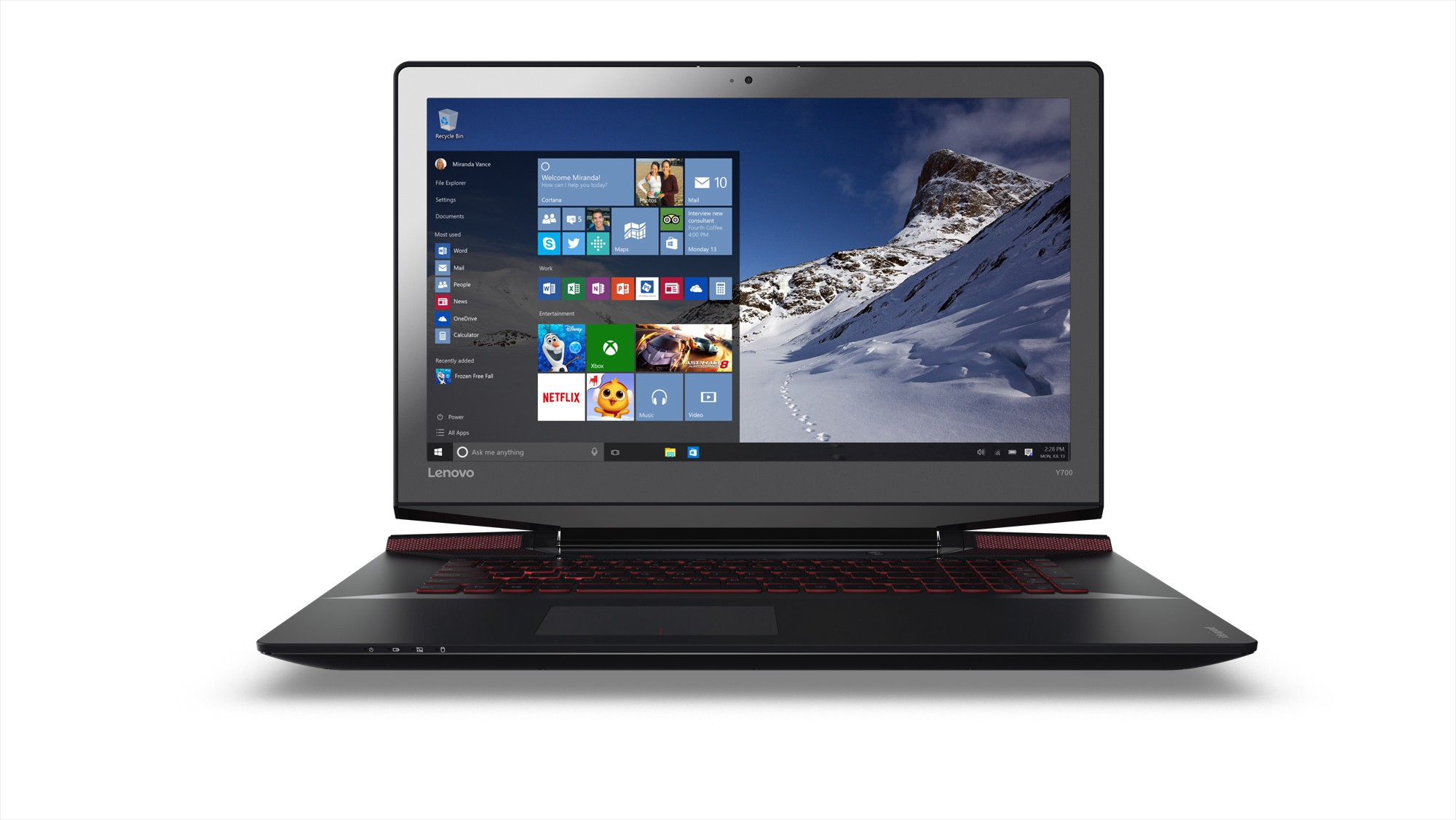 Lenovo Core i5 7th Gen - (4 GB/1 TB HDD/Windows 10 Home/2 GB Graphics) Yoga 510 Laptop(14 inch, Black, 1.7 kg) image