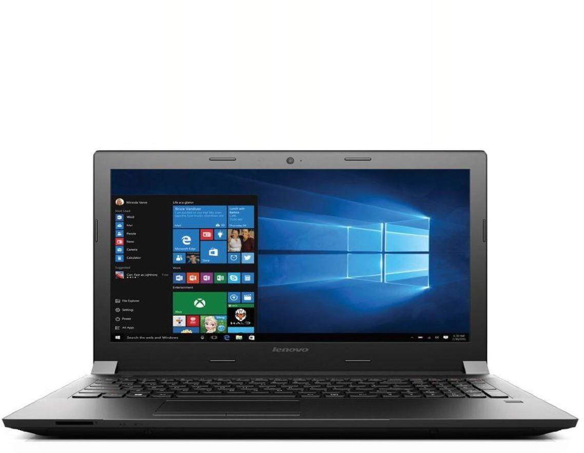 View Lenovo B41 Pentium Quad Core 6th Gen - (4 GB/500 GB HDD/8 GB EMMC Storage/Windows 10) 80LD002KIH MPNXB630907D Notebook(14 inch, Black, 2.7 kg) Laptop