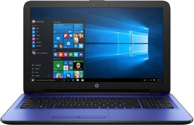 HP Core i3 6th Gen - (4 GB 1 TB HDD Windows 10 Home) 1AC83PA ACJ 15-ay544TU Notebook(15.6 inch Blue 2.19 kg)