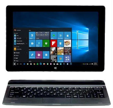 Micromax Canvas Wi-Fi Atom - (2 GB/32 GB EMMC Storage/Windows 10 Home) LT666W LT666W 2 in 1 Laptop(10.1 inch, Grey)