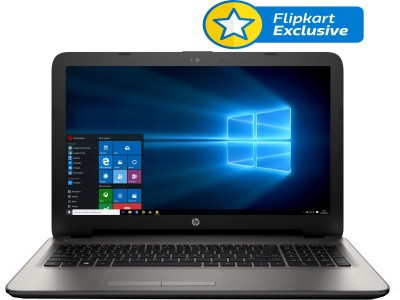 HP 15-af114AU P3C92PA#ACJ APU Quad Core A8 - (4 GB/1 TB HDD/Windows 10) Notebook