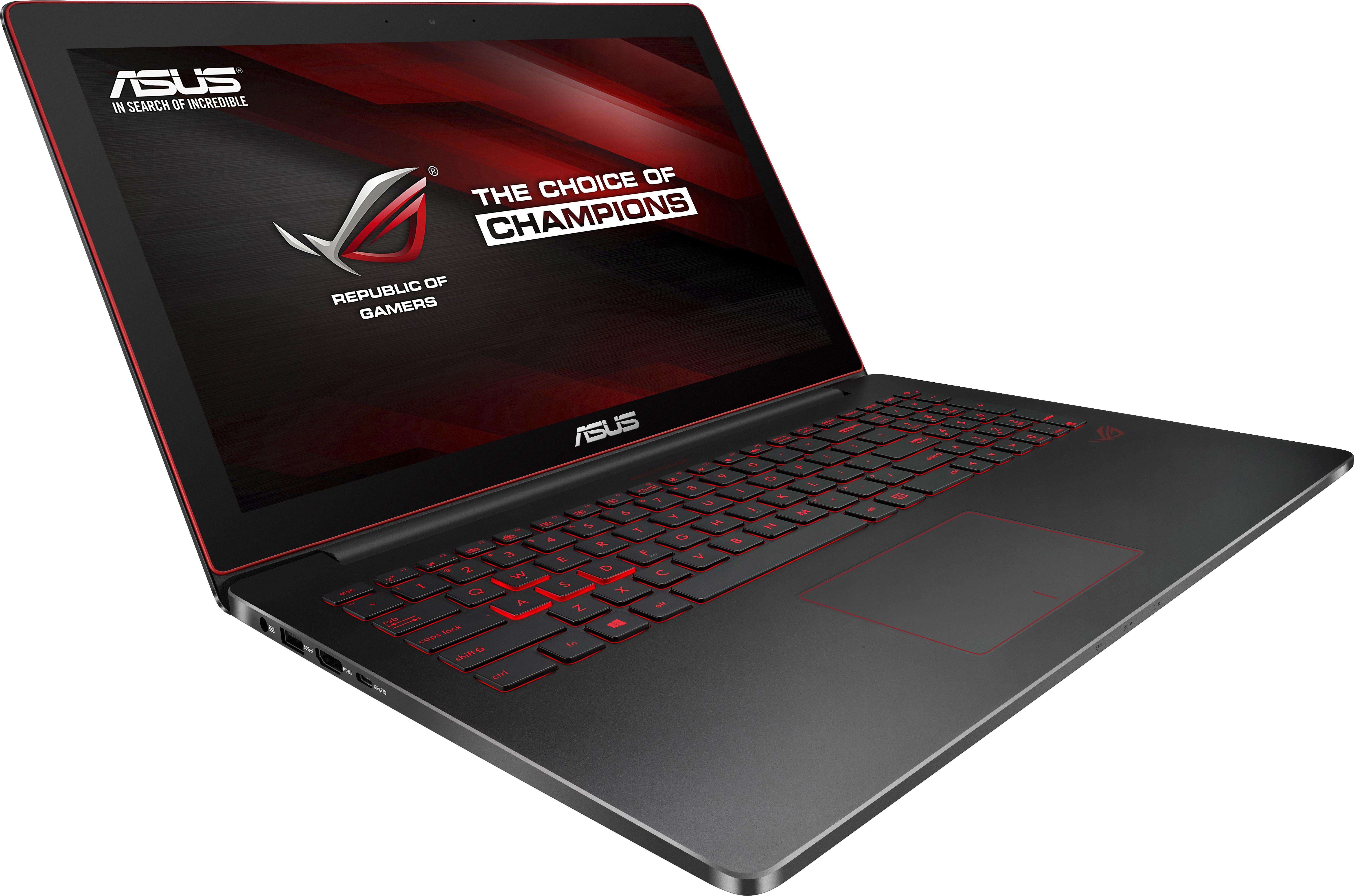 View Asus ROG Core i7 6th Gen - (16 GB/512 GB SSD/Windows 10 Home/4 GB Graphics) G501VW-FI034T Notebook(15.6 inch, Black, 2.06 kg) Laptop