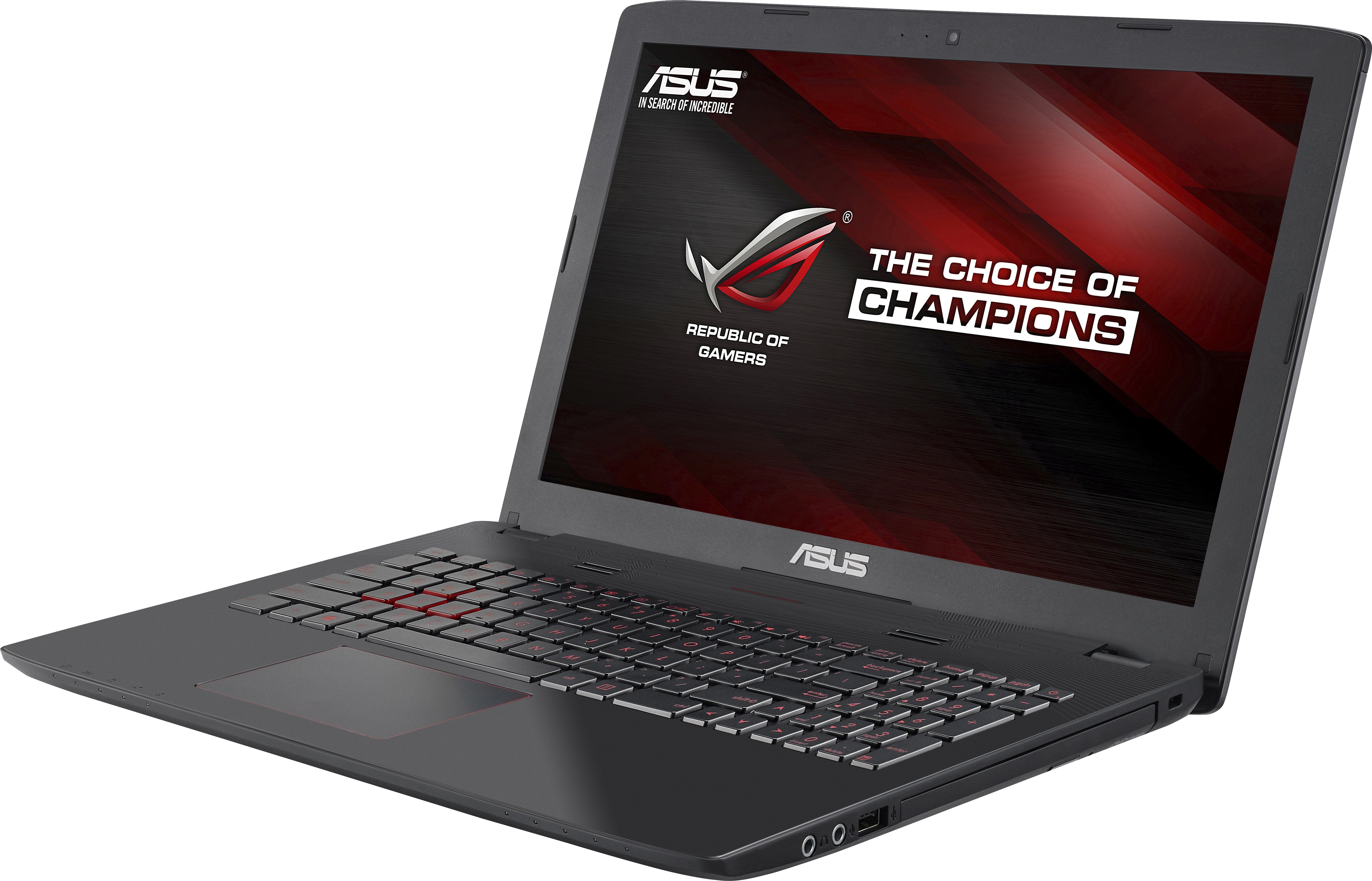 Asus ROG Core i7 6th Gen - (8 GB/1 TB HDD/Windows 10 Home/4 GB Graphics) GL552VW-CN426T Gaming Laptop(15.6 inch, Grey Metal, 2.59 kg) image