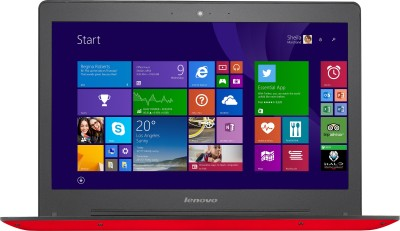 Lenovo Core i5    4  GB/1 TB HDD/8  GB SSD/Windows 8.1/2  GB Graphics  80JV007XIN U41 70 Notebook 14 inch, Red, 1.68 kg  available at Flipkart for Rs.52000