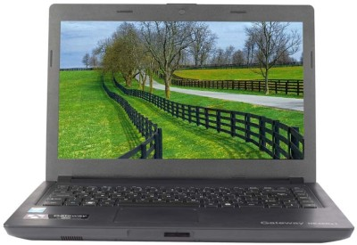 Acer Gateway NE46Rs1 Pentium Dual Core - (2 GB/320 GB HDD/Linux) Notebook UN.Y52SI.004 (14 inch, Black, )
