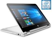 HP Pavilion x360 Core i3 7th Gen - (4 GB/1 TB HDD/Windows 10 Home) Y4F71PA 13-u104tu 2 in 1 Laptop(13.3 inch, SIlver, 1.58 kg)